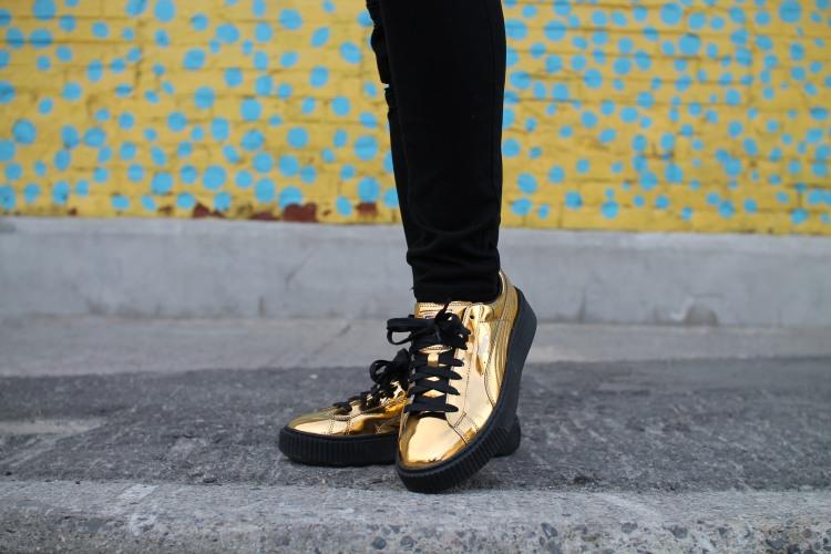 puma gold shoe